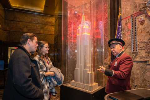 NYC: Empire State Building VIP-rondleiding