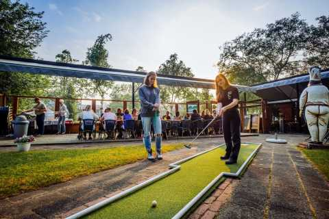 Rotterdam: Mini-Golf and Euromast Tower Admission Ticket