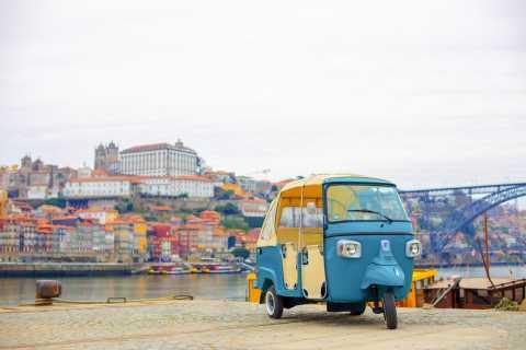 Porto: Ganztägige private Tuk Tuk Tour