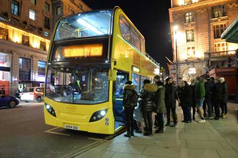 London: Private Open-Top Sightseeing Bus Tour
