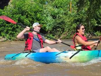 Asheville: Geführte Kajaktour auf dem French Broad River