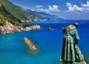 Cinque Terre: Bootsfahrt nach Riomaggiore und Monterosso