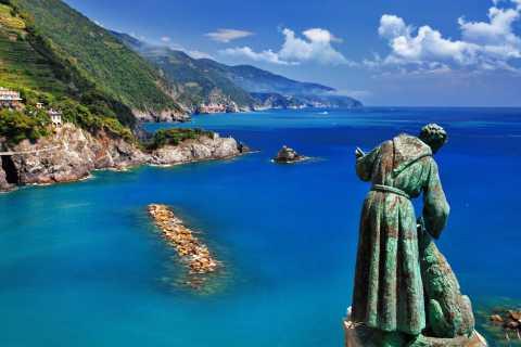 Cinque Terre: cruzeiro de barco para Riomaggiore e Monterosso
