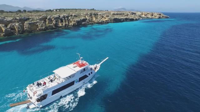 Trapani: bootshuttle naar de eilanden Favignana en Levanzo