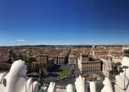 Rom: Panorama-Glasaufzugsticket mit Audio-App