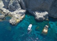 Trapani: Marettimo Island und Sea Caves Bootstour mit Mittagessen