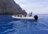 Trapani: Private Schlauchbootfahrt auf den Ägäischen Inseln