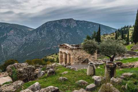 Geführte Wanderung durch die archäologische Stätte von Delphi