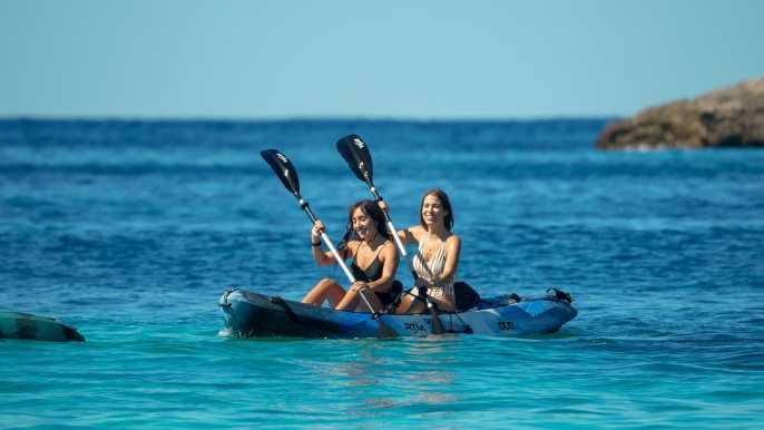 Ibiza : Full-Day Rental Kayak Adventure