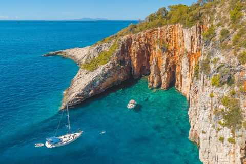 Split and Trogir: Private Hvar and Red Rocks Boat Tour