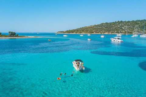 Adriatica Tour: Blue Lagoon and Solta from Trogir or Split