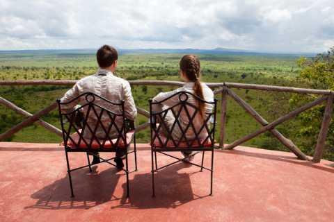 Kampala: Queen Elizabeth National Game Park 2-tägige Safari