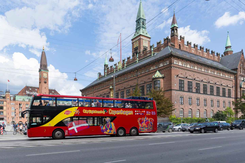 Kopenhagen: Tickets für den Hop-On/Hop-Off-Bus