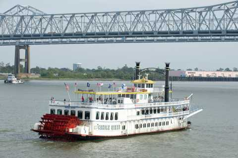 New Orleans: Creole Queen Morning Jazz Cruise