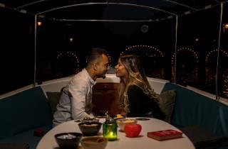 Amsterdam: Private romantische Kanalrundfahrt bei Nacht