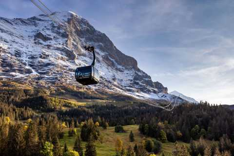 Jungfraujoch: Top of Europe Roundtrip by Cable Car and Train