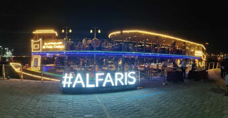Dubai: crociera di lusso con cena con transfer facoltativo