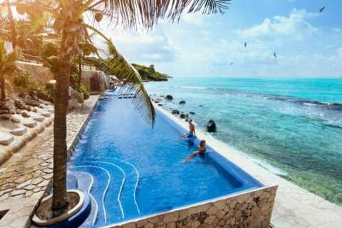 Van Cancun: toegang tot Garrafon Reef Park met veerboottickets