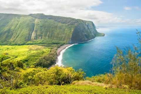 Big Island: Tulivuoren kansallispuiston kiertue lounaalla ja kuljetuksella