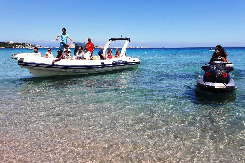 Santa Teresa Gallura: Schnellbootfahrt auf den Korsika