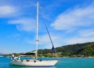 Von Palau: Ganztägiger Segeltörn auf dem Maddalena-Archipel