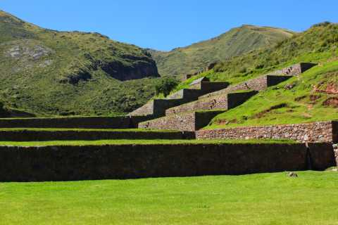 From Cusco: Half-Day Private Tour to Tipon, Oropesa & Huaro
