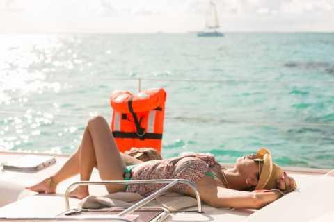 Cancún: croisière à Isla Mujeres en catamaran tout compris