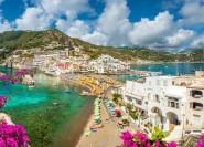 Von Sorrento: Ganztägige Procida- und Ischia-Bootsfahrt
