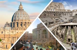 Rom: Tagestour Kolosseum und Vatikanische Museen