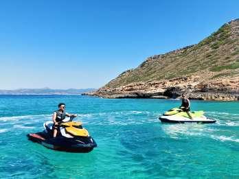 Palma de Mallorca: Jet-Skitour durch Los Deltas