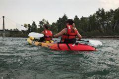 Calgary: excursão autônoma de caiaque no rio Bow