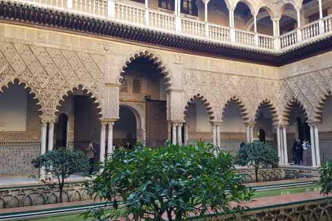 Séville: visite de l'Alcazar, de la cathédrale et de la Giralda avec billets