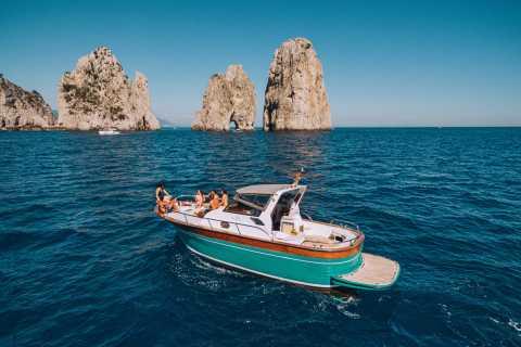 Depuis Amalfi : excursion en bateau à Capri
