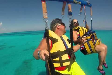 Cancún: aventura en parasailing con recogida y regreso al hotel