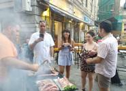 Palermo: Kleine Gruppe Night Street Food Tour