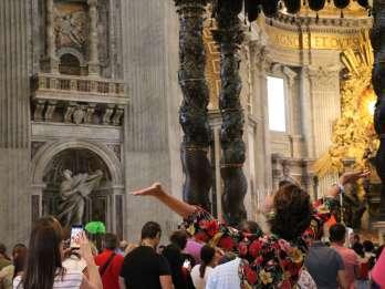 Rom: Petersdom & päpstliche Grabtour mit Kuppelaufstieg