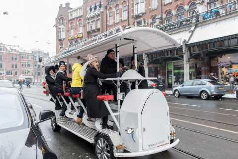 Amsterdam: balade de 75min. en vélo festif