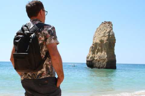 From Portimão & Carvoeiro: Algarve Coast Tour in a VW T2 Van