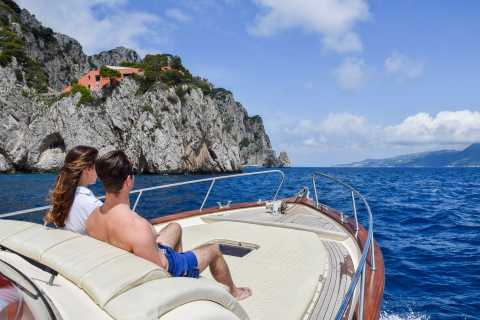 Sorrento: Exclusive Capri Boat Tour and Optional Blue Grotto