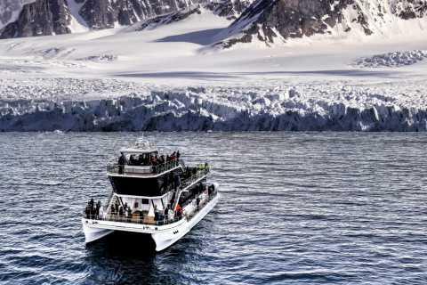 Longyearbyen: Hybrid-Electric Catamaran Cruise to Pyramiden
