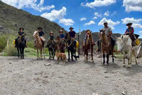 Mendoza: Horseback Riding in the Andes with Authentic BBQ