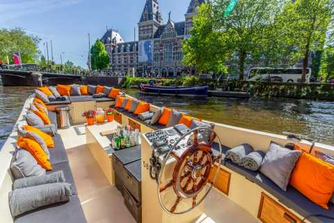 Amsterdam: Luxury Canal City Cruise from Rijksmuseum