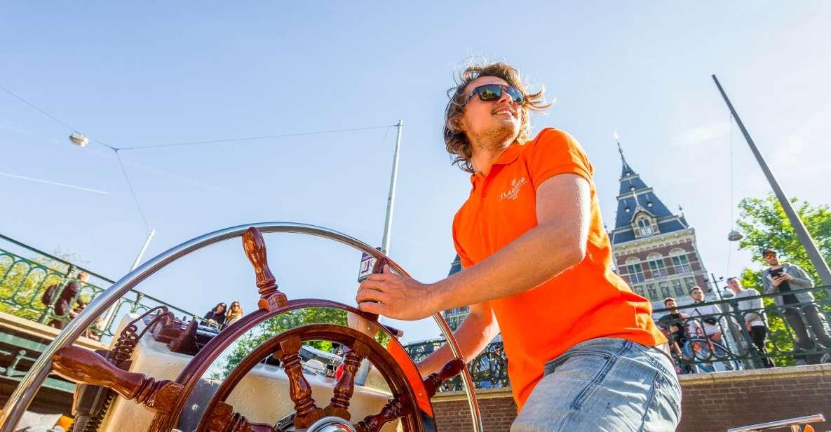 Amsterdam: luxe stadsrondvaart door de grachten