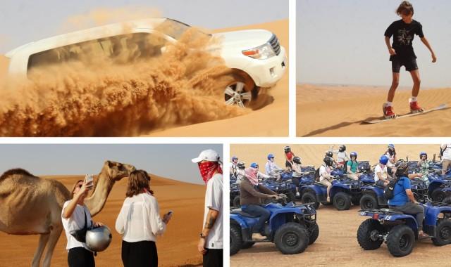 Dubai: Desert Adventure-tocht van een halve dag met quadrijden