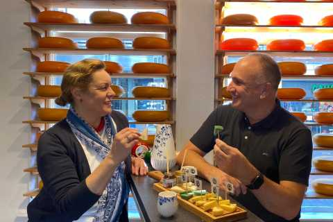 Delft: Cheese Tasting in the Henri Willig Shop
