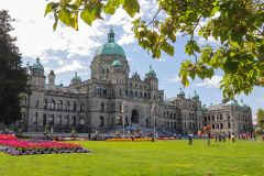 De Vancouver: Butchart Gardens e Victoria Sightseeing Tour