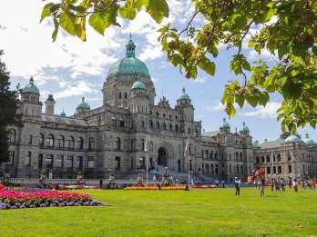 Von Vancouver: Butchart Gardens & Victoria Sightseeing Tour