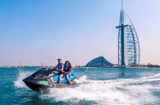 Dubai: Jetski Burj al Arab, Burj Khalifa, Marina & Atlantis
