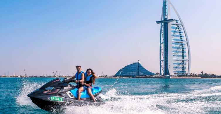 Dubai JetSki: Burj Al Arab, Burj Khalifa, Marina & Atlantis
