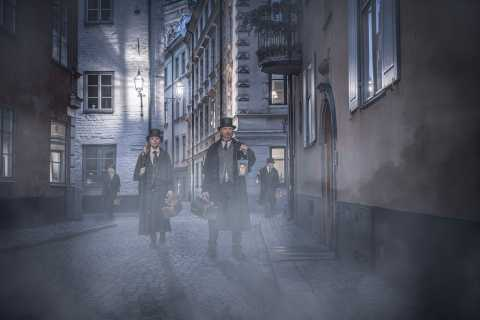 Estocolmo: tour histórico y ruta de fantasmas de 1,5 horas